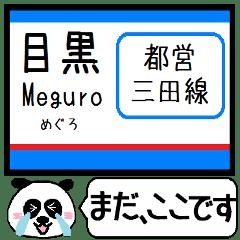 都営地下鉄 三田線 駅名 今まだこの駅!