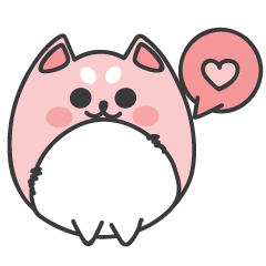Pink Shiba 2