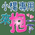 XIAO YANG_Color font