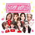 Star girls team shining appear