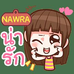 NAWRA cute girl with big eye e