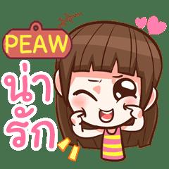 PEAW cute girl with big eye e