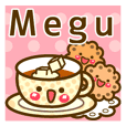 """Use the stickers everyday """"Megu"""""""