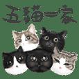 五猫一家/ 日常用语篇