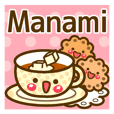 """Use the stickers everyday """"Manami"""""""