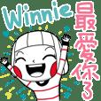 Winnie's sticker