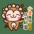 Twopebaby flower monkey 246