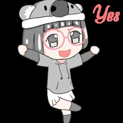 Megane Yona animated ( english version )