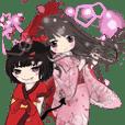 小天使と小悪魔女の子23 和服編-日常会話