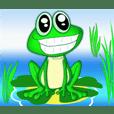expresi katak hijau