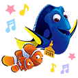 Stiker Finding Dory