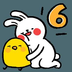 懶散兔與啾先生的OS人生 6