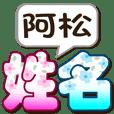 771阿松-大字姓名貼圖