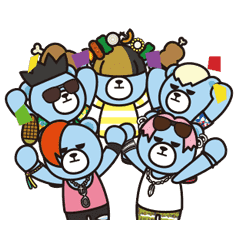 會動的!KRUNK×BIGBANG 夏季篇
