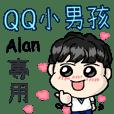 A Curly Boy-Alan