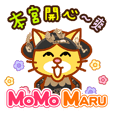 momo maru - queen is very happy