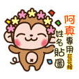Twopebaby flower monkey 876