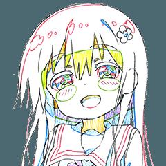 Watashi ni Tenshi ga Maiorita!(Keyframe)