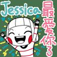 Jessica's sticker