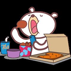 : Cute White Bear :
