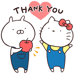 Hello Kitty × Usamaru