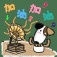【可愛日常篇】 小狗東東的氣質貼 1