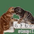 Laki&Mocha's Sticker:1