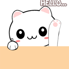 Miki the naughty cat