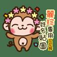 Twopebaby flower monkey 1089