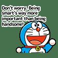 Doraemon Bergerak dengan Kata Mutiara