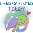 Little SeaTurtle Totem