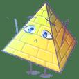 Egypt Pyramid Man