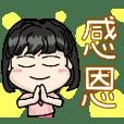 可愛QQ小女孩