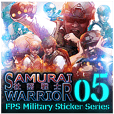 FPS Military Sticker SYACHIKU.ver05