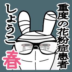 Sticker gift to syoukoRabbit Spring