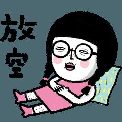 金桃Baby#5 – 厭世大丸 (蠟筆風)