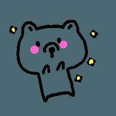 line bear lovely