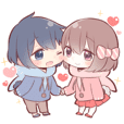 STICKER FOR COUPLES 3(tw)