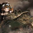世界の中戦車スタンプ