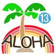 Hawaiian adult sticker13