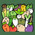 にぎやかな野菜たち