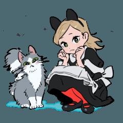 Nekomimi-chan&Hachiware