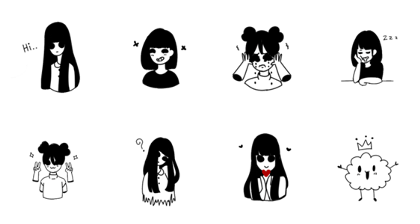 Girls with black eyes1