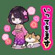 Hanako-chan stikkers