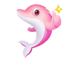Dolphin pink