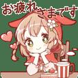 HONWAKA AKAZUKIN sticker 2