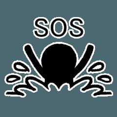 SOSカードのスタンプバージョン - LINE スタンプ | LINE STORE