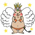 Charming Degu Sticker No.2