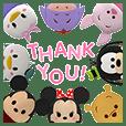 Disney Tsum Tsum Melompat Keluar! Pop-Up
