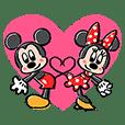 ミッキー&ミニー ラブラブポップアップ